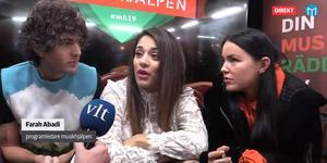 Daniel Hallberg, Farah Abadi och Miriam Bryant är programledare för Musikhjälpen 2019 i Västerås.