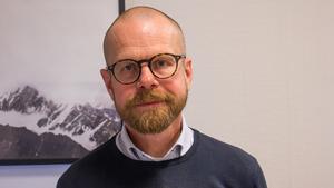 Niclas Andersson, franchisetagare och mäklare på Fastighetsbyrån.