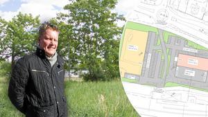 Det markförberedande arbetet inleds inom kort, meddelar Thomas Hansen.