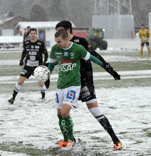 Dala-Järna IK:s Robert Hedman, här i Bragetröjan 2014, är juni månads bäste spelare i  Dalafyran.