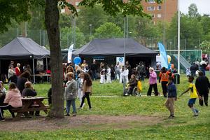 Demokratifestivalen i Hovsjö på lördagen.