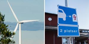 Sverige har ett stort elöverskott, bland annat tack vare utbyggnaden av vindkraft. Men ett bekymmer är att få ut elledningar till laddstolpar.