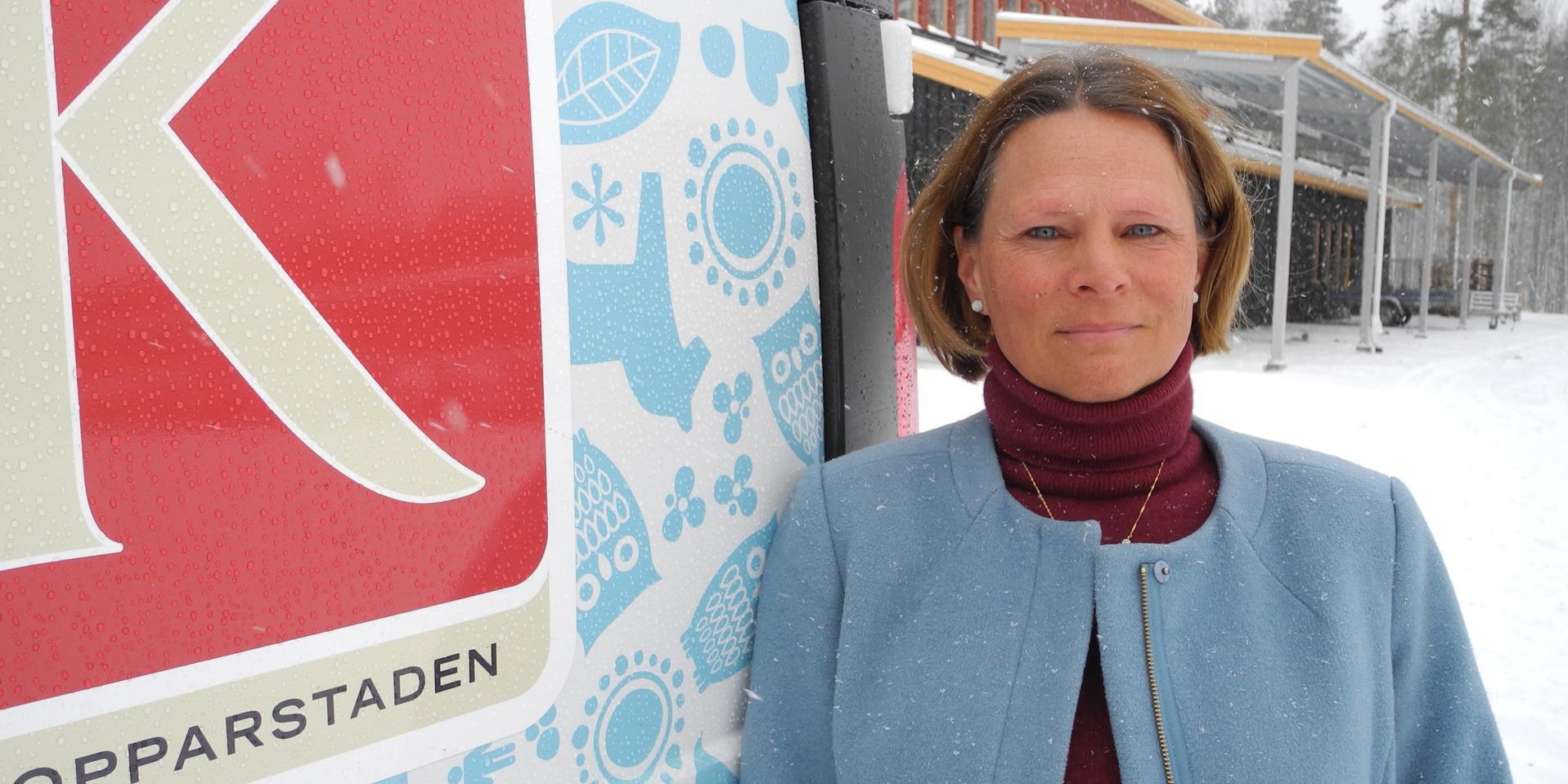 """""""Jag vill slå ett slag för de hyreslägenheter som vi faktiskt redan har"""" skriver Kopparstadens vd Susanna Karlevill. Foto: Anders Staffas"""