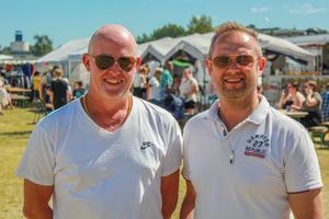 Nicklas Norberg och Eric Asplund, är tillsammans arrangörer av Thaifestivalen.