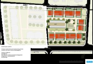 SHH vill bygga tvåvåningshus på sin del av området.