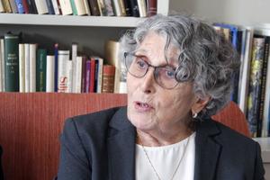 Zsuzsanna Reisch är född 1936 och har många minnen av judeförföljelser i Ungern.