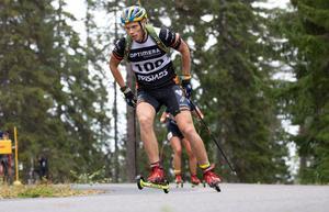 Borlängebördige Henning Sjökvist tog medalj i både sprint och distans. Foto: Håkan Blidberg