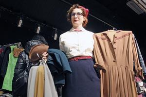 Jeanette Söderberg från Stockholm handlade kläder i den rätta stilen.