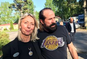 Då Helene Åkerström Hartman läste DN tillsammans med Peter Stormare, konstaterade hon att Orbaden har just de gästerna som DN Kultur nämner.