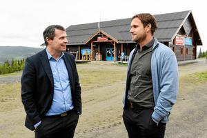 Daniel Kindberg och Markus Näslund.