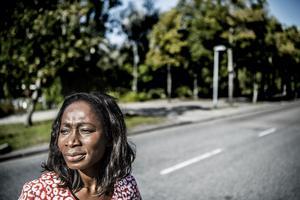 Nyamko Sabuni, partiledare för Liberalerna, vill stoppa höghastighetsjärnvägen. Foto: Tomas Oneborg / SvD