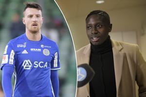 Alexander Blomqvist och Pa Konate är barndomskompisar och spelade tillsammans i Malmö FF – nu är de återförenade i GIF Sundsvall.