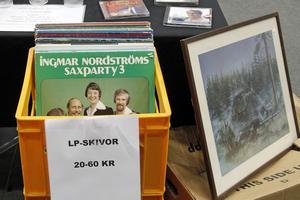 Den danssugne hade chans att köpa LP-skivor med Ingmar Nordströms.