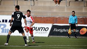 Armin Tankovic dundrade in 1–0-målet mot Sollentuna från långt håll.