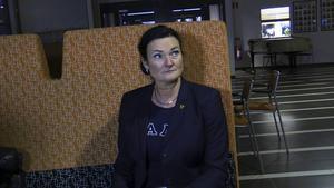 Katarina Ivarsson är skolchef i Hofors kommun och tycker att politikernas satsning på utbildning är positiv.