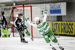 Mikael Olsson i SM-kvartsfinalserien mot Sandviken.