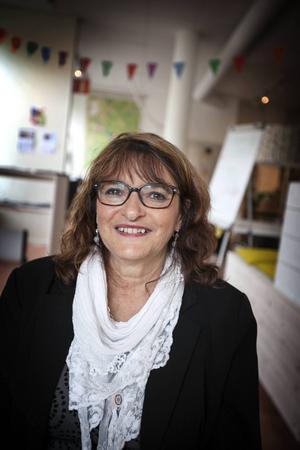 Ellen Hyttsten, ordförande i Sveriges konstföreningar, distriktet Jämtland-Härjedalen.