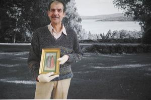 Samir Hussein valde en akvarell av Hilding Linnqvist med arabisk känsla.