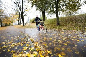 Sofie Jansson cyklar året runt.