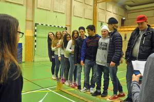 Elever från Sveg, Hede, Ytterhogdal och Funäsdalen träffades inför gymnasievalet.
