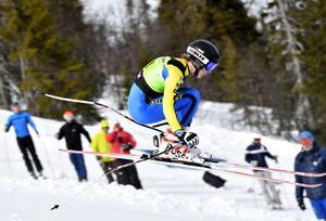 Jesper Brändholm, Sälens IF tvåa i Super-G