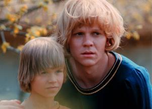 Lars Söderdahl som Skorpan och Staffan Götestam som Jonatan i den första