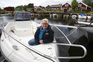 Maria Åhlund erbjuder guidade turer till Bremön och genom Löruddens fiskeläger.