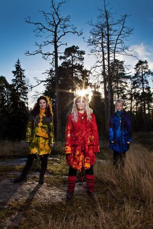 Finska folkmusikgruppen Värttinä.