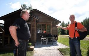 Ett toppmodernt hus med en energisnål och miljövänlig uppvärmning påpekar Roland Haglund och Pigge Werkelin.