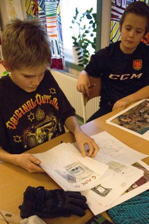 Leo Thor och Gabriel Bjurén hade många idéer om vad de ville ha i Ånge.