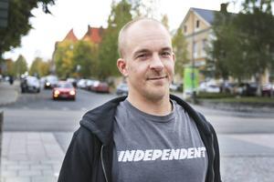Nicklas Westman bor i Norge, men var på väg att hälsa på sin bror när han träffade på den vilsekomna 14-åriga pojken.