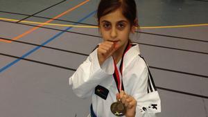 Tredjeplats för Elicia Demir i Stockholm cup.