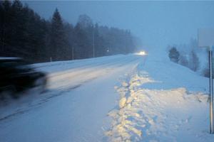 Det blev penningböter för bilförare som höll för kort avstånd i snörök.