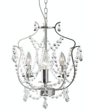 Festligt. Ljuskronan Kristaller från Ikea. Pris: 499 kr.