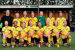 Heby AIF:s lag som i fjol vann SA-triangeln på hemmaplan. Foto: Mikael Stenkvist