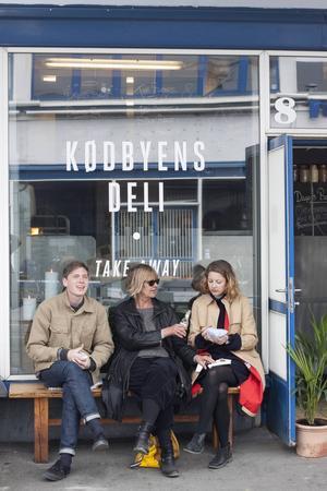 I Kødbyen, Köpenhamns Meatpacking District, finns flera budgetvänliga matställen.   Foto: Annika Goldhammer