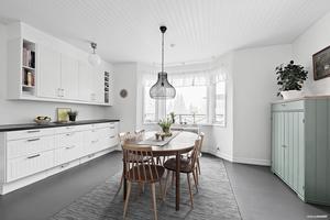 Köket i huset på Alnö.