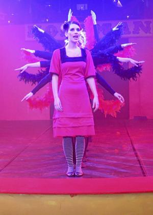 Viktigt. Sång och dans är en stor och viktig del i Lindeskolans musikteaterprojekt.