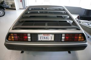 Det finns ett 60-tal DeLorean DMC-12 i Sverige, de flesta ägare är med i Svenska DeLorean-sällskapet. Här en amerikanskägd bil.