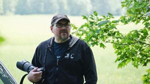 Thomas Nordströms bild av en riddare från Leksand medeltidsmarknad vinner juli månadens bildtävling. Foto: Niklas Norén