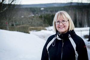 Ann-Marie Rosvall tycker det är spännande att arbeta i grupp och hur två olika åsikter ska mötas i ett gemensamt beslut.