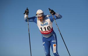 Lars Ljung under SM-tävlingarna i Falun.