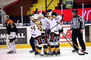 Skellefteå hade fullständig lekstuga med Brynäs, som förlorade med hemska 2–7.