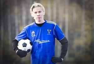 Bollnäs GIF:s forward Christoffer Lindberg kommer att spela i division 2 med Norrby kommande säsong.