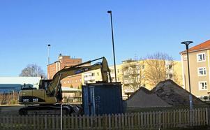 Bygget på Hagalund är påbörjat.