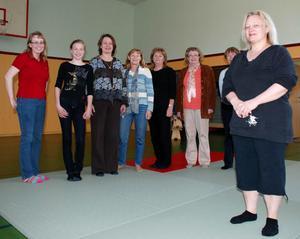 Självförsvar. Under lördagen genomfördes en introduktionskurs i praktiskt självförsvar för kvinnor och tjejer. Ledare var landslagsmeriterade Agneta Nyman, med svart bälte av tredje graden i judo (3:e dan).
