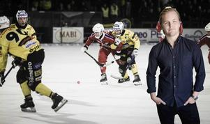 Bandypuls krönikör och redaktör Christoffer Million. (Bilden är ett montage)