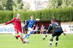 Joel Granberg gjorde 1–0 i den 38:e minuten efter ett vackert spelmål av hemmalaget.