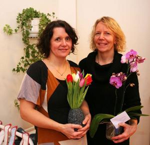 Märit Jonsson och Susanne Jonsson, båda från Rissna var med och grundade föräldrakooperativet Busbua. Numera utgör de också hela personalstyrkan.