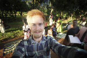 Marcus Nygren från Skutskär har designat mobilt lärande för unga entreprenörer i Uganda Och Zambia. Hittills har 12 000 unga utbildats med hjälp av en app som Marcus utvecklat.